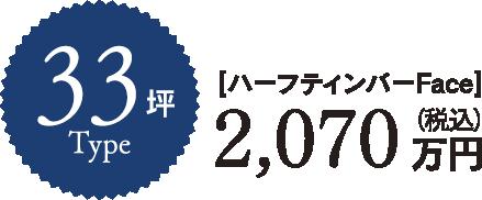 33坪type [ハーフティンバーFace]
