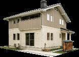 ノルウェーハウスの規格住宅モデルハウス